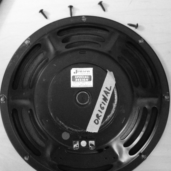 Vintage Jensen 10 inch speaker